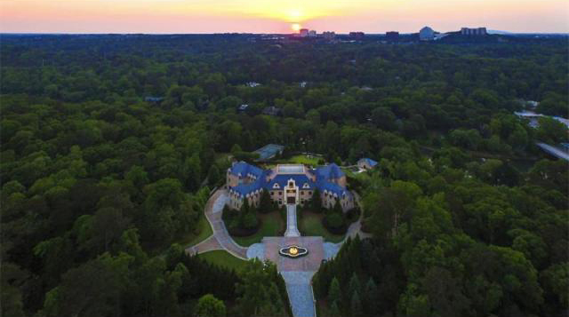 Atlanta Celebrity Estate Home (002)