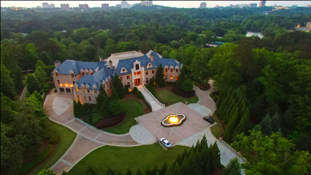 Atlanta Celebrity Estate Home (003)