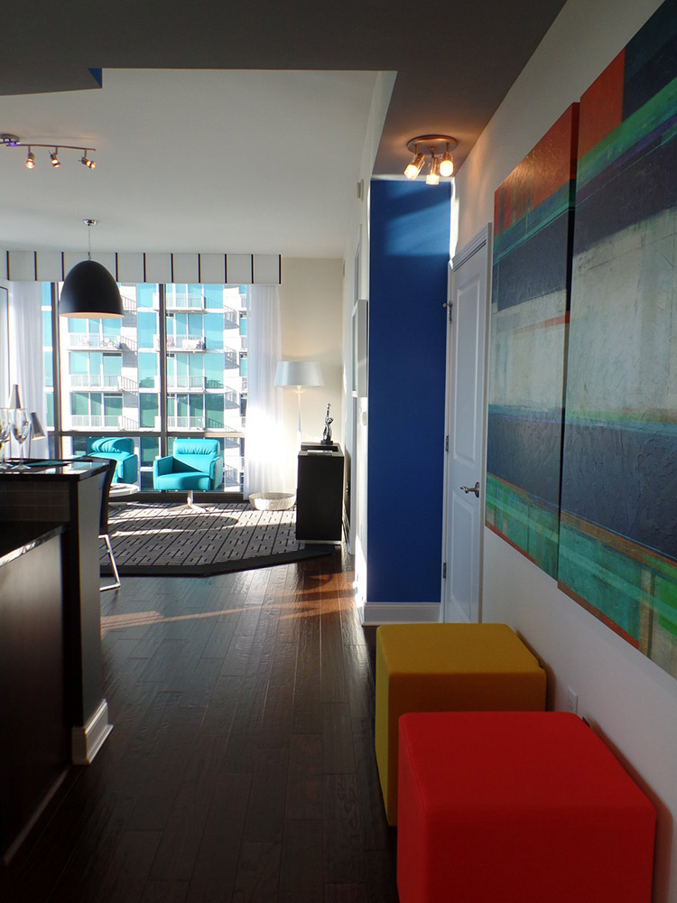 the atlantic residence contemporary high rise interior design